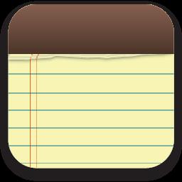 Notes App Icon