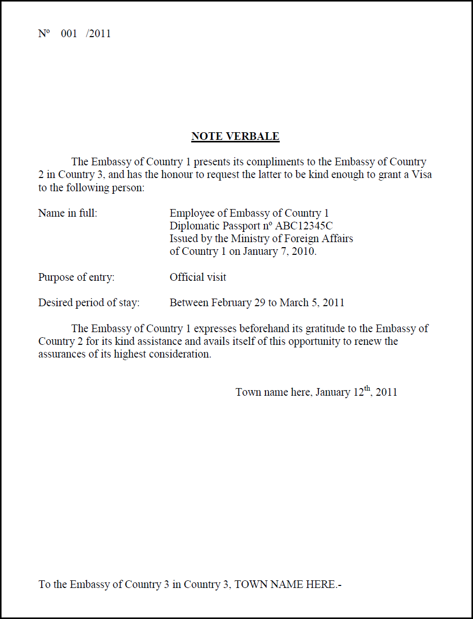 Sample Letter to Ambassador Sample Letter to Ambassador new pictures