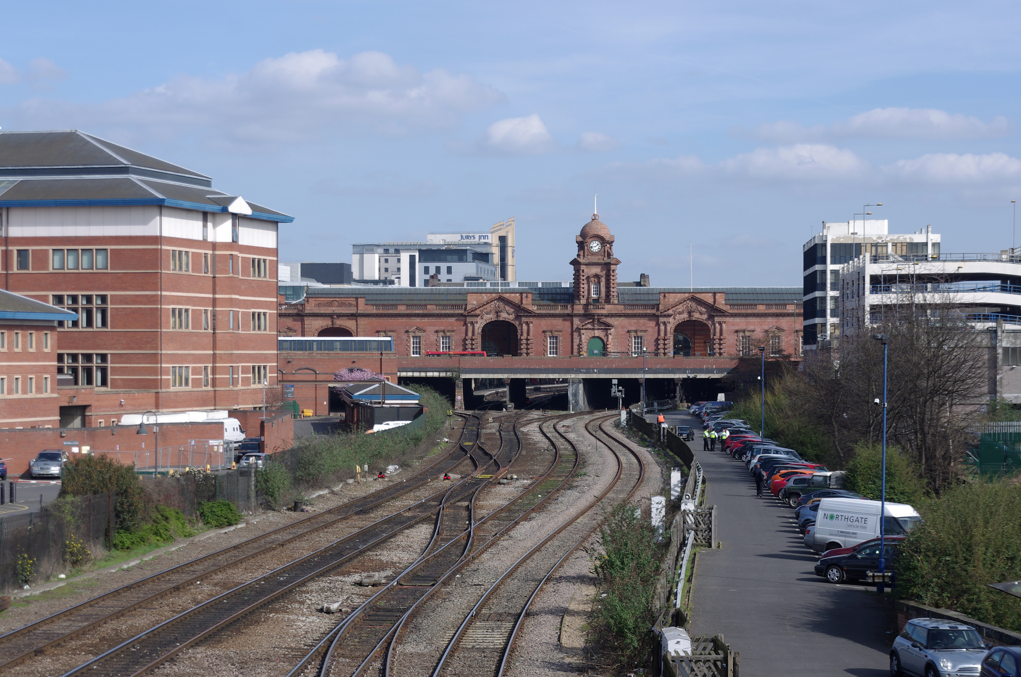 Nottingham Train Station Car Park