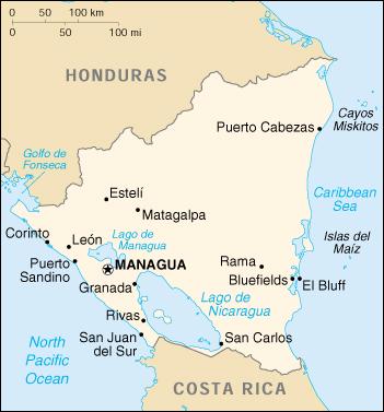 Atlas Of Nicaragua Wikimedia Commons - Country map of nicaragua