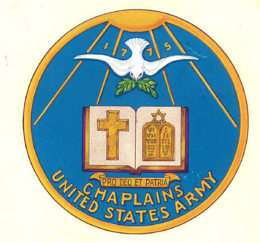 File Old Army Chaplain Corps Branch Plaque Tioh Jpg