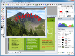 PhotoLine running on Windows 7