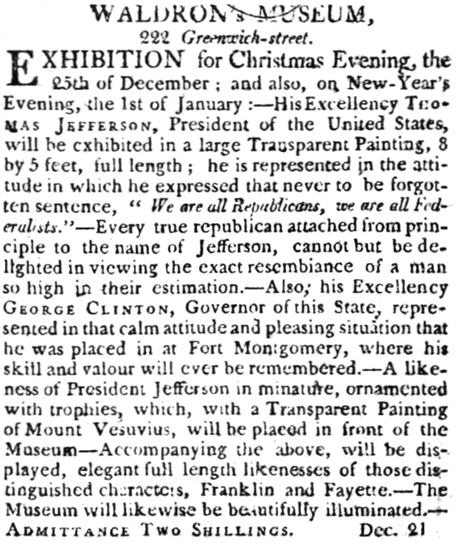 PSM V56 D0208 A museum ad from the new york evening post 1801.png