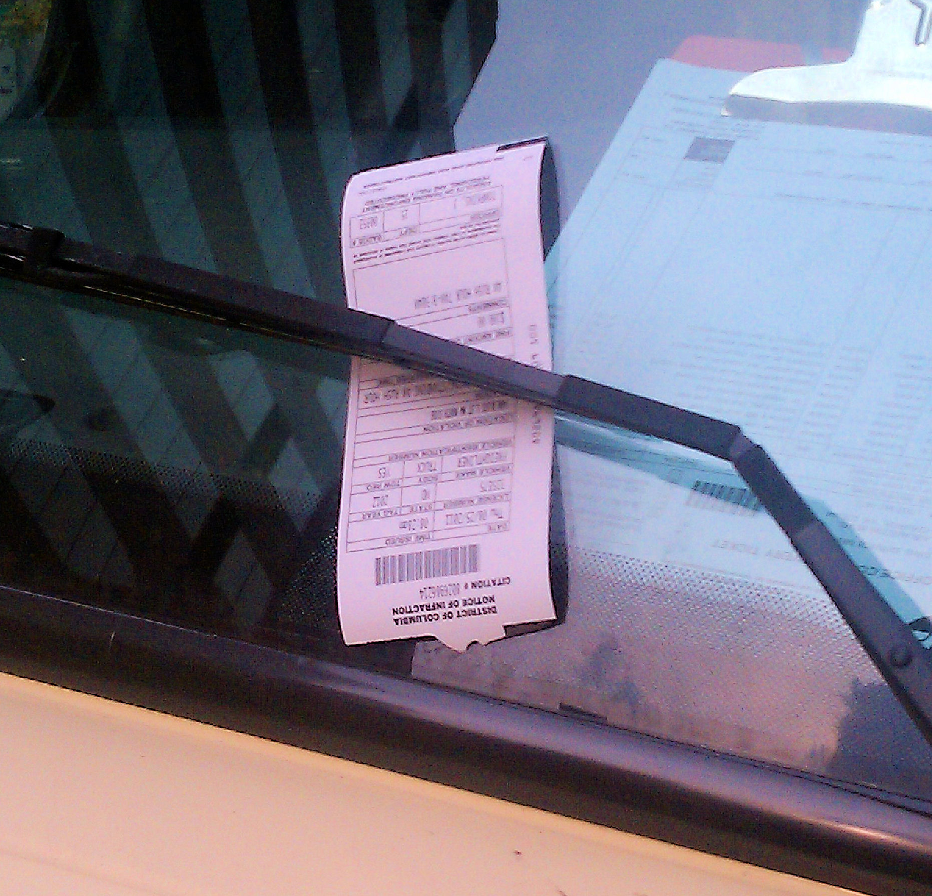 DC Parking Ticket