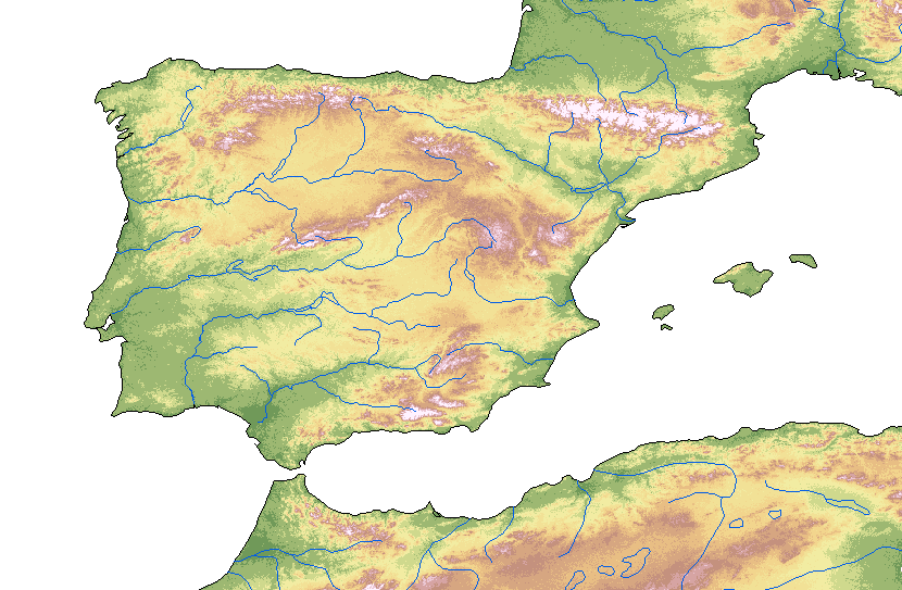 FilePeninsula Iberica  Iberian Peninsulapng  Wikimedia Commons