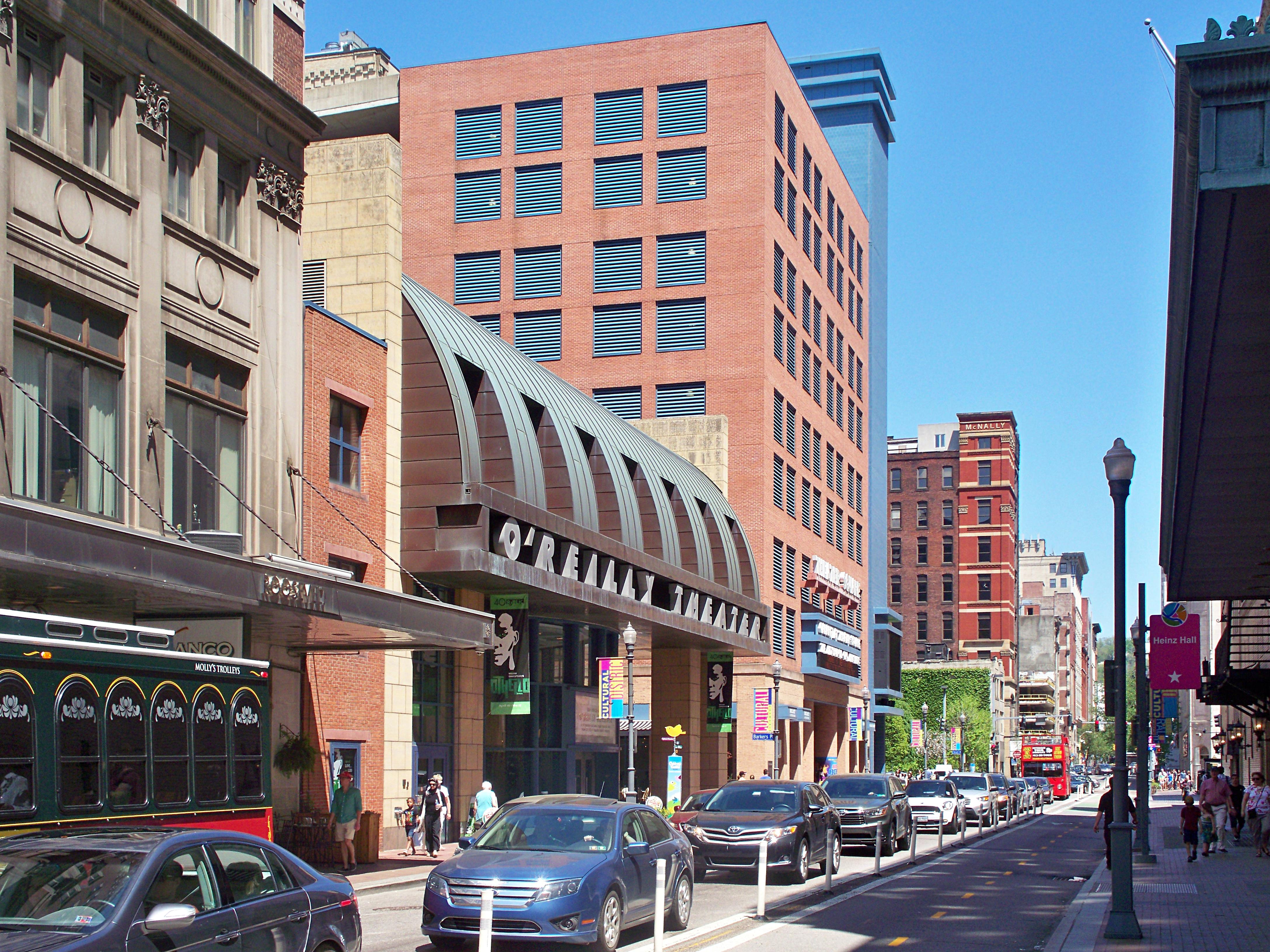 Penn Avenue Cultural District Father Pitt