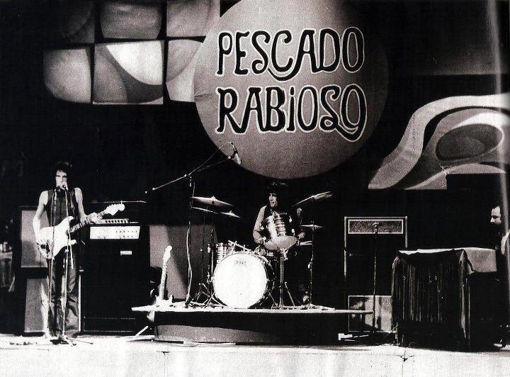 Pescado Rabioso tocando en Canal 11, 1972.
