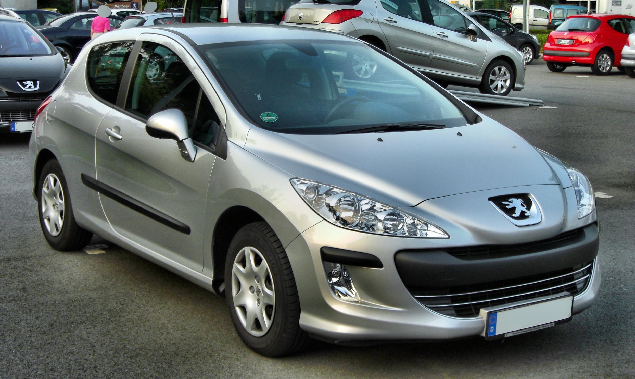Build Your Own Car >> File:Peugeot 308 3-Türer front-1.JPG - Wikimedia Commons