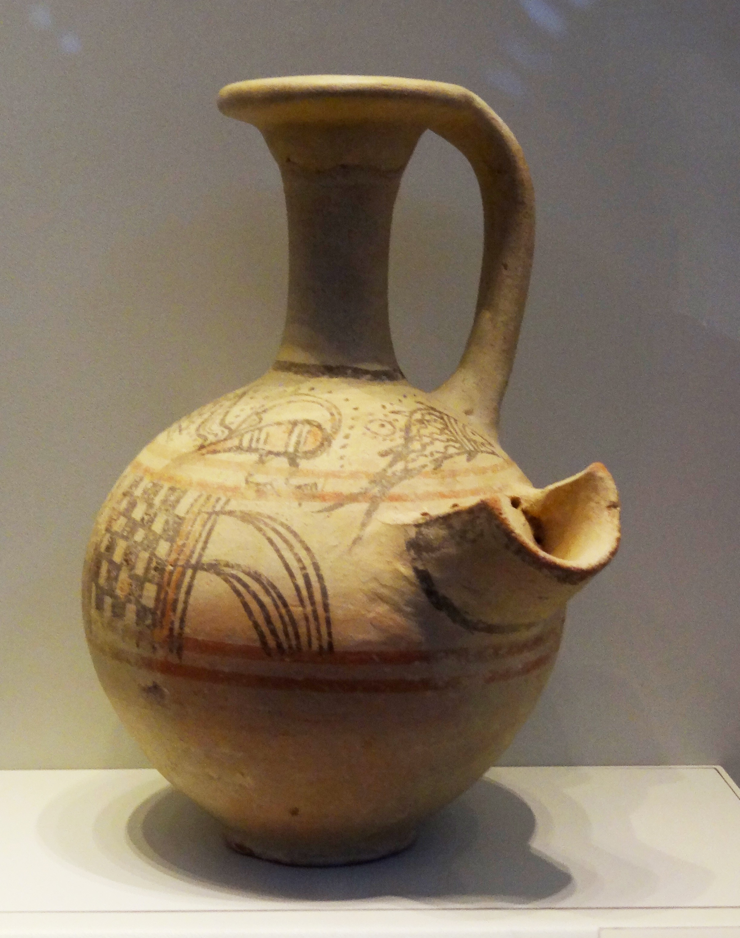 Http Commons Wikimedia Org Wiki File Philistine Pottery Beer Jug Jpg
