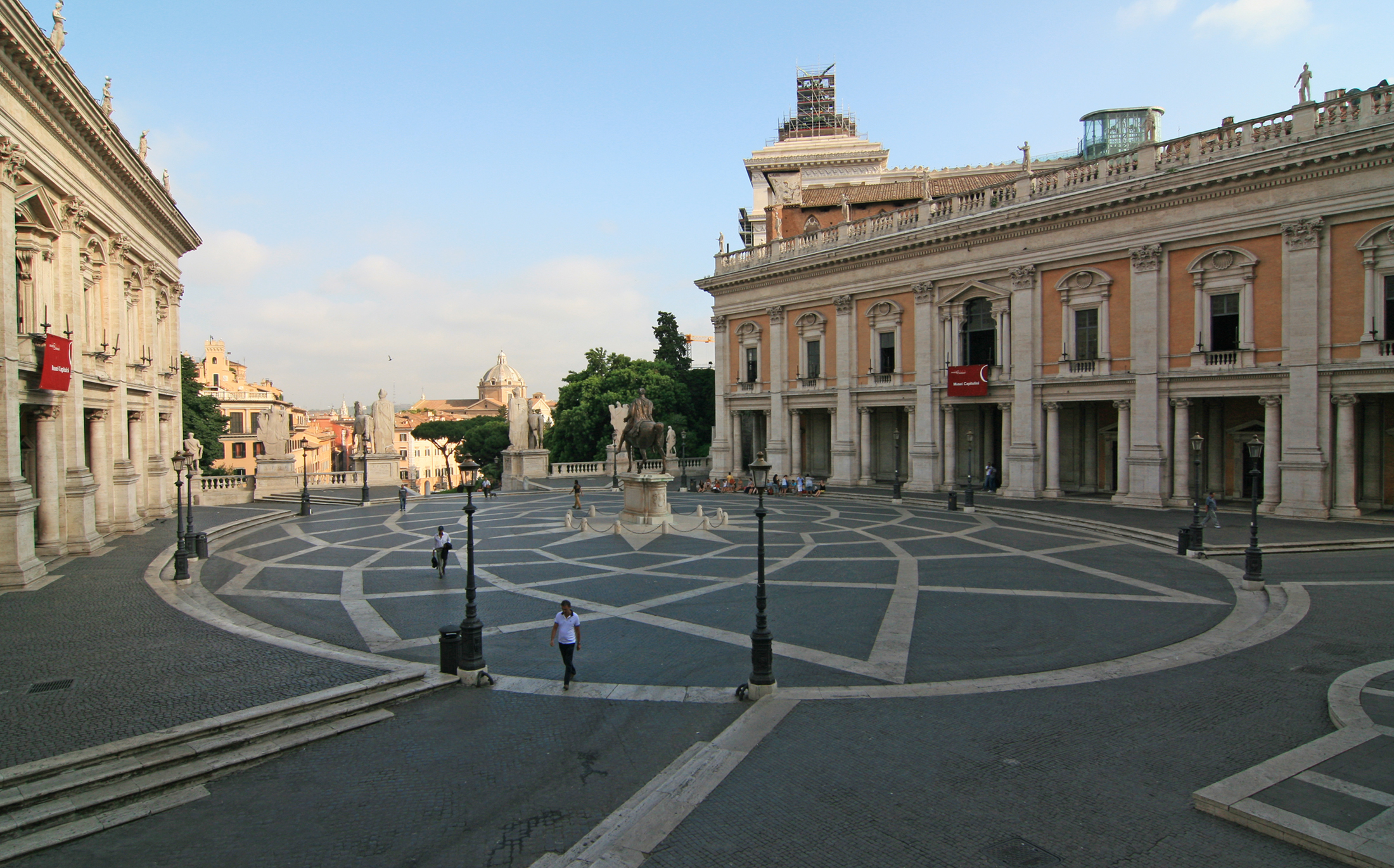File piazza del campidoglio wikipedia for 9 square architecture