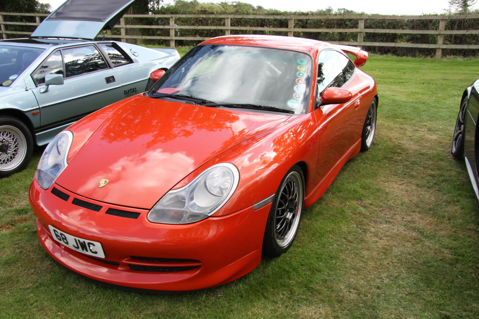 File Red Porsche 996 Gt3 With Cup Front Spoiler And Bbs