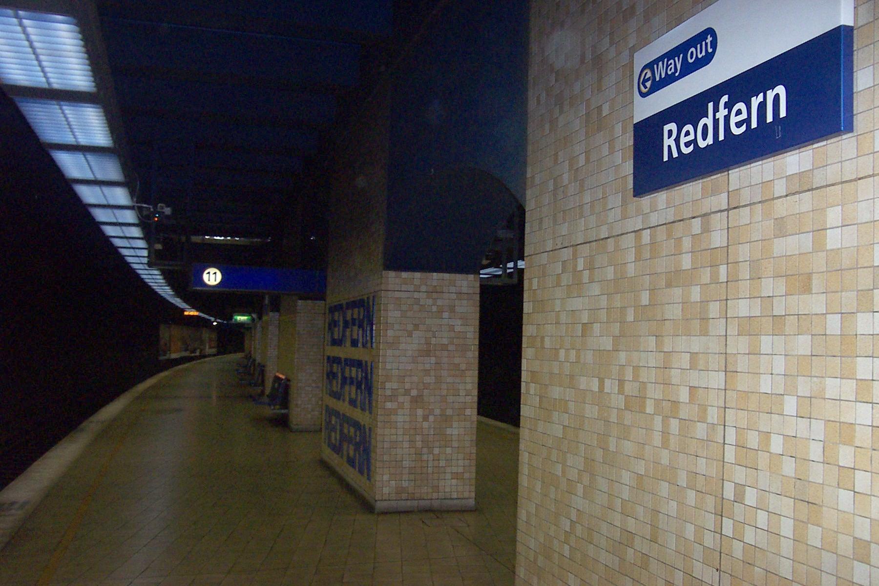 redfern station - photo #1