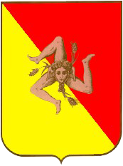 Coat of arm of Sicily