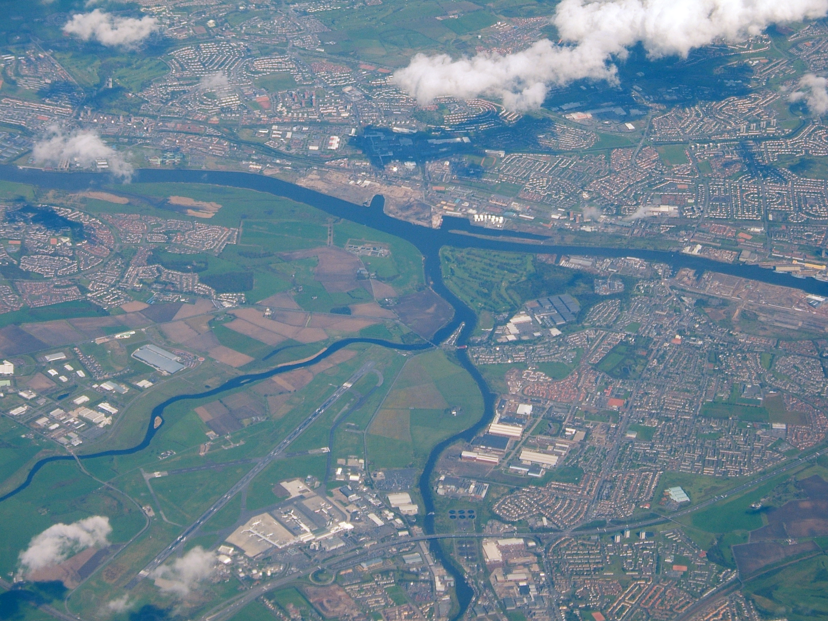 File River Clyde West Of Glasgow Jpg