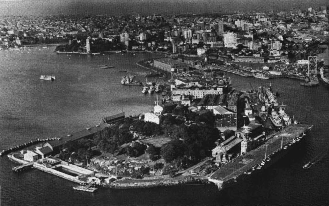 Garden Island Naval Precinct Wikipedia