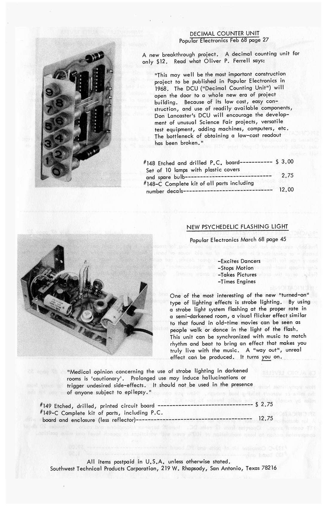 Fileswtpc Catalog 1968 Pg03 Wikimedia Commons Strobe Light Project Circuit