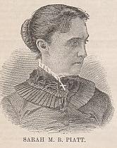Sarah Morgan Bryan Piatt, 19th-20th century poet.