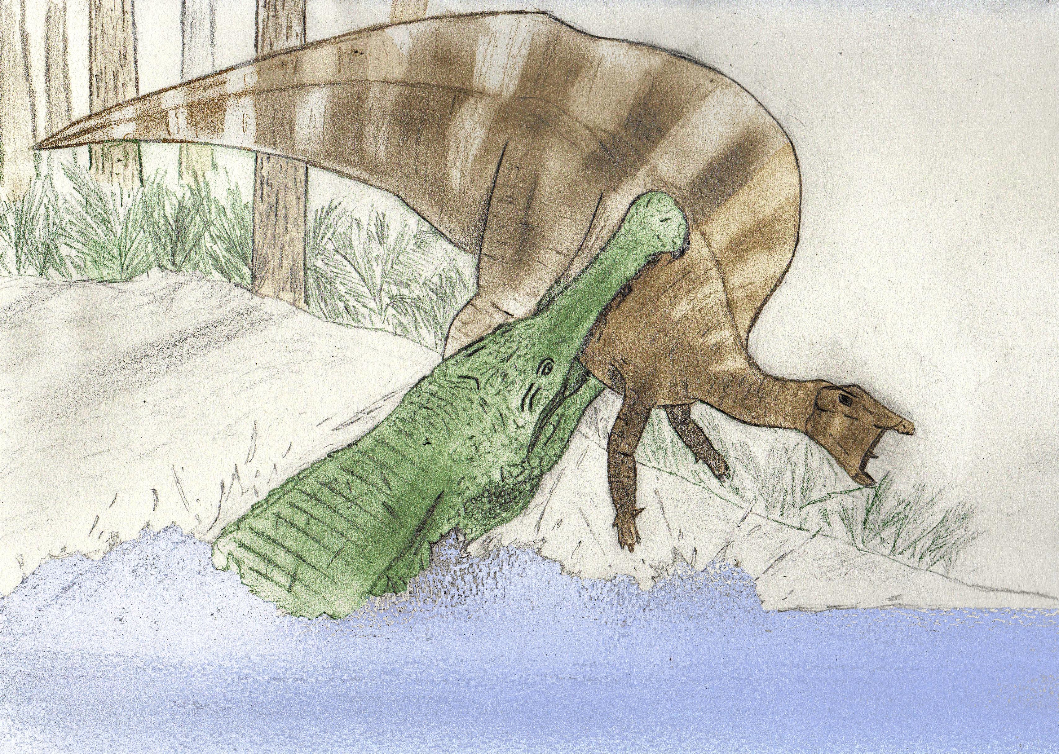 filesarcosuchus imperator et ouranosaurus nigeriensisjpg