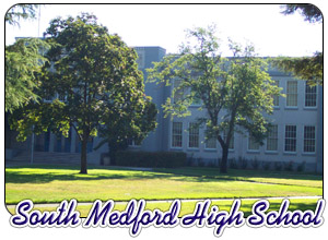 South Medford High School Exterior
