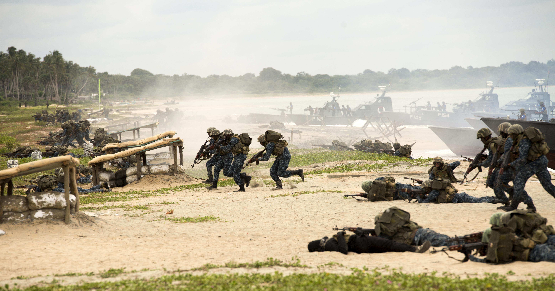 File:Sri Lankan Marines Assault Beach at Sri Lankan Naval ...