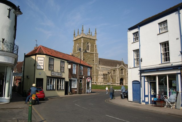 St.Wilfrid's from the Market Place - geograph.org.uk - 386772