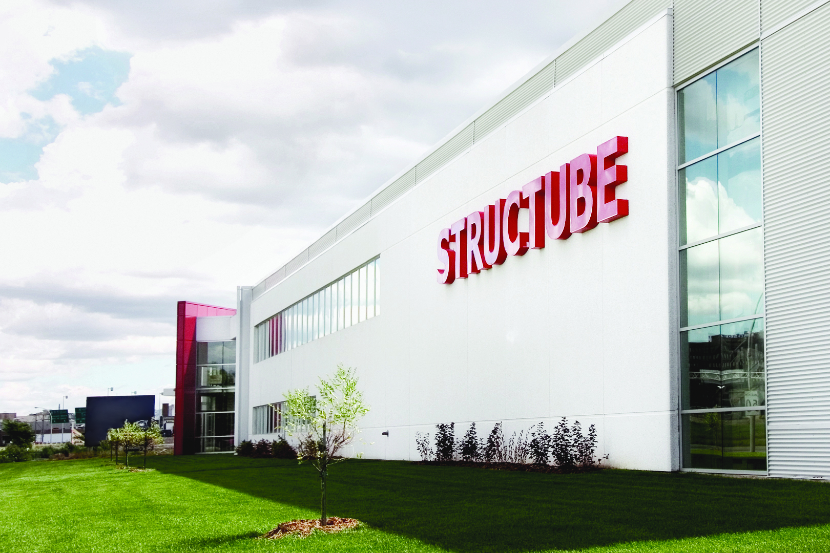 Structube Head Office And Distribution Center In Montreal Quebec Canada