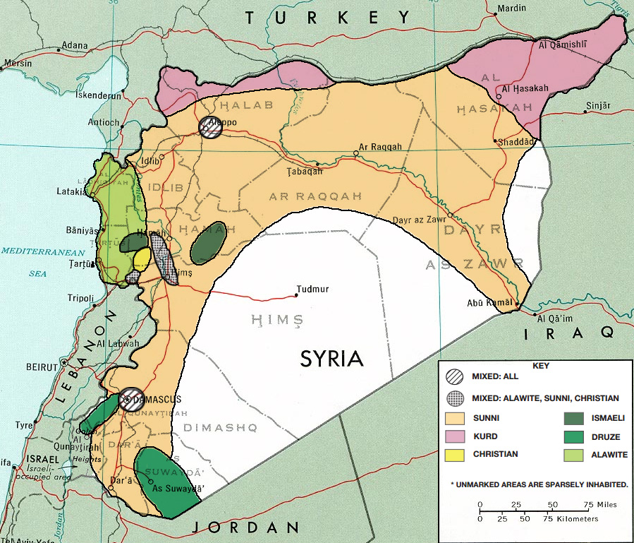 Syria, its complicated
