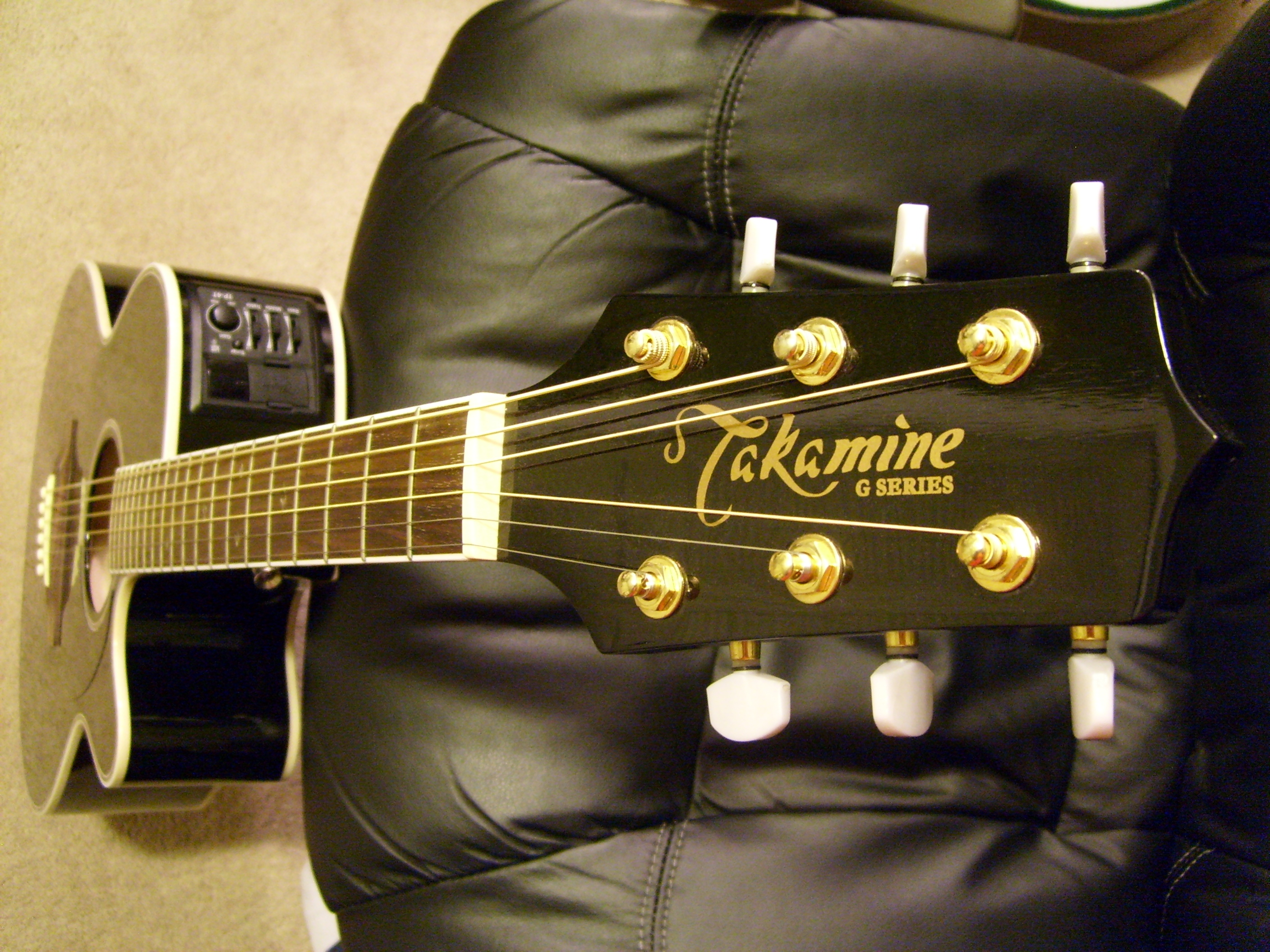FileTakamine EG461SC Headstock
