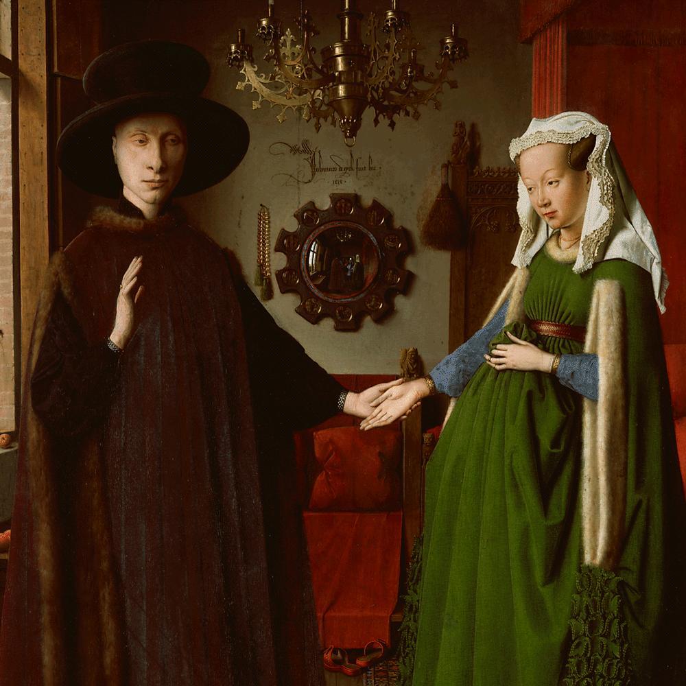 http://www.nationalgallery.org.uk/paintings/jan-van-eyck-the-arnolfini-portrait