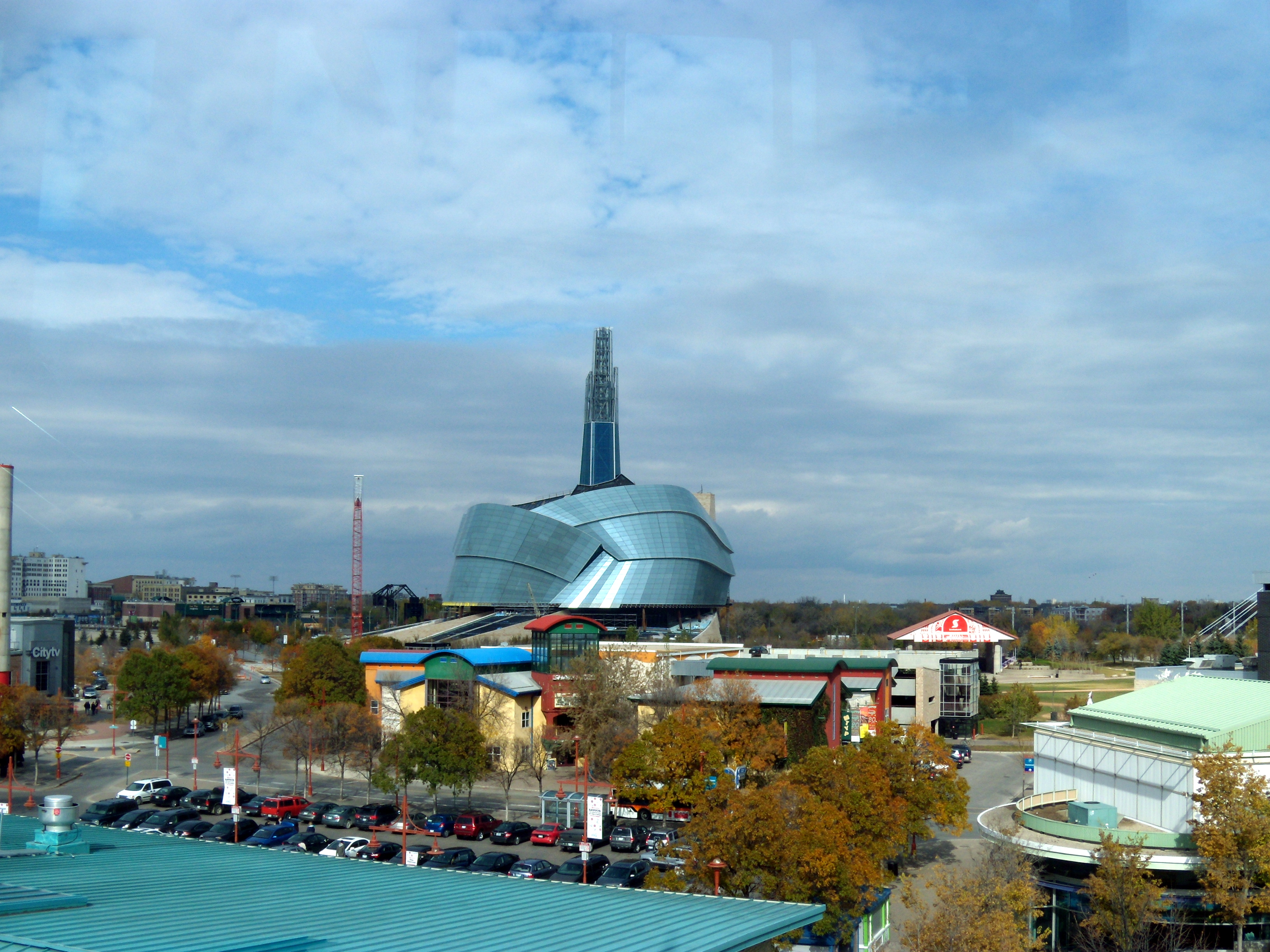 file the canadian museum for human rights as seen from the forks