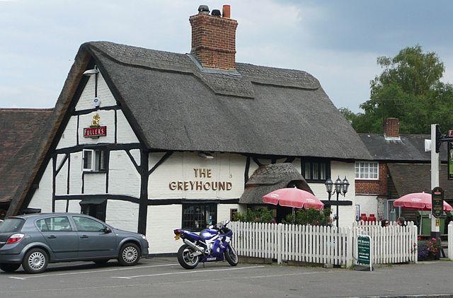 The Greyhound, Tidmarsh - geograph.org.uk - 915566