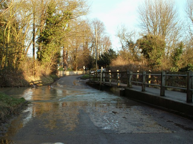The ford at Walkern - geograph.org.uk - 666074