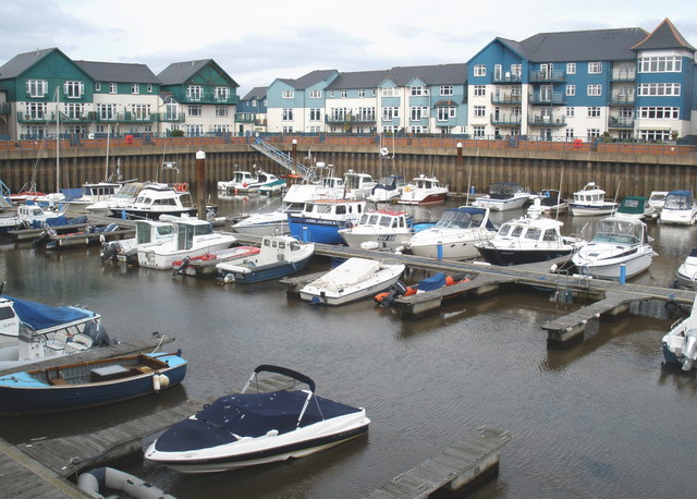 The marina, Exmouth - geograph.org.uk - 1180858