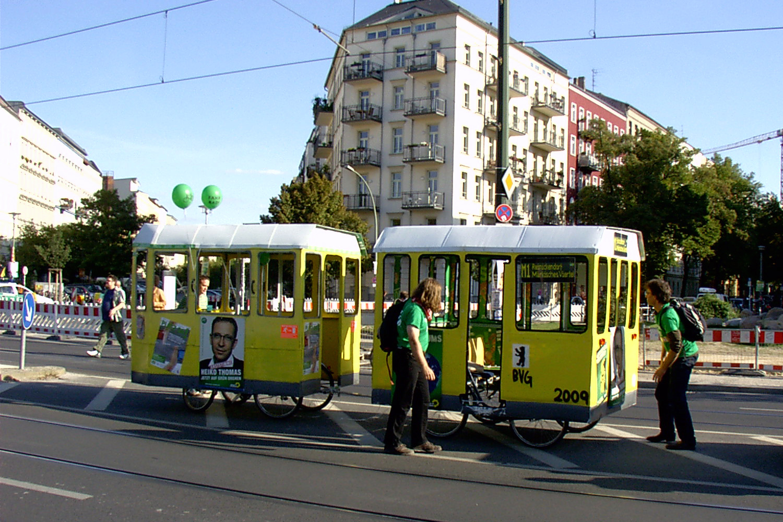 Tram Model Berlin 2009