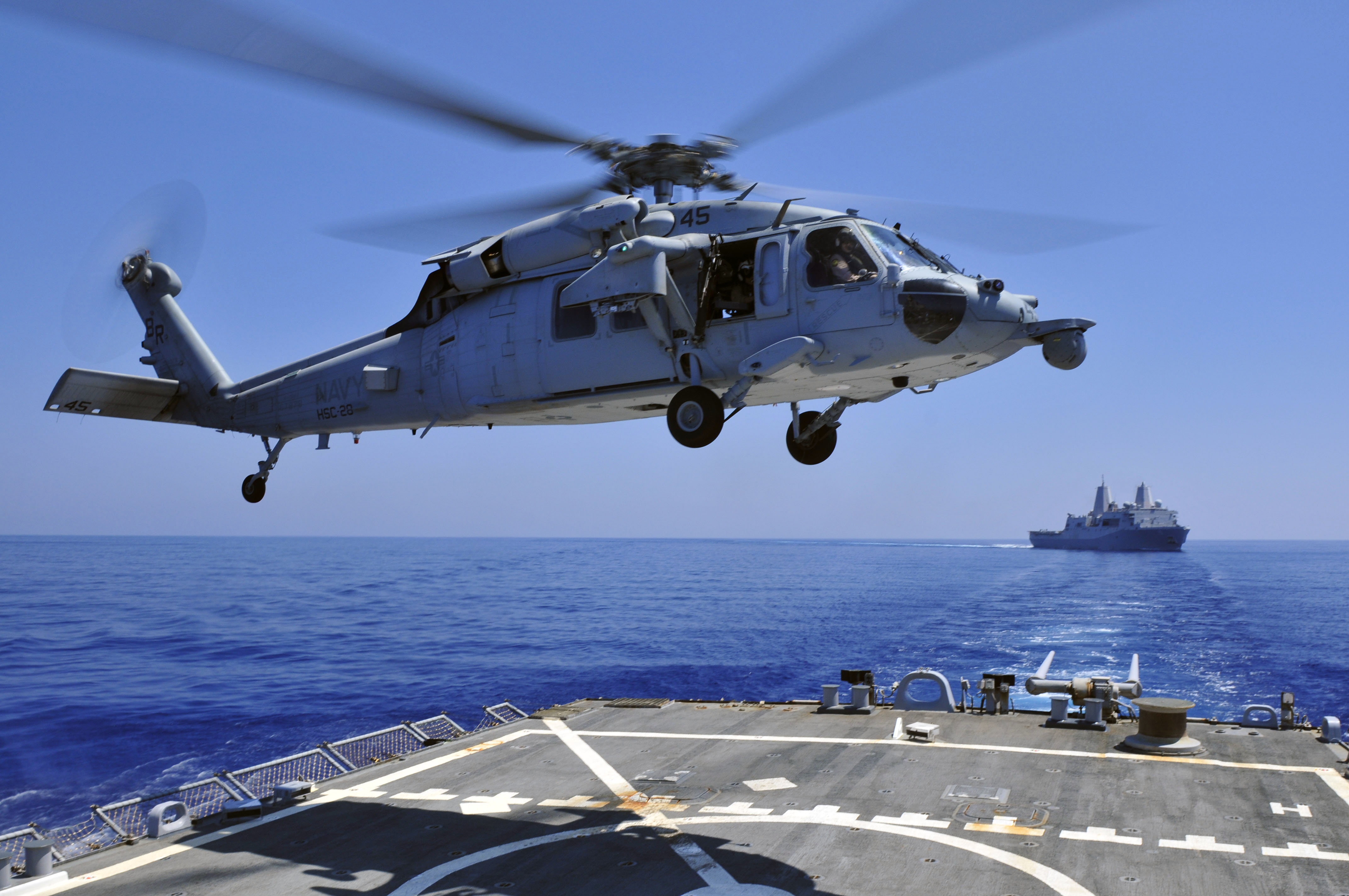 File:US Navy 110514-N-XO436-054 An MH-60S Sea Hawk helicopter assigned ...