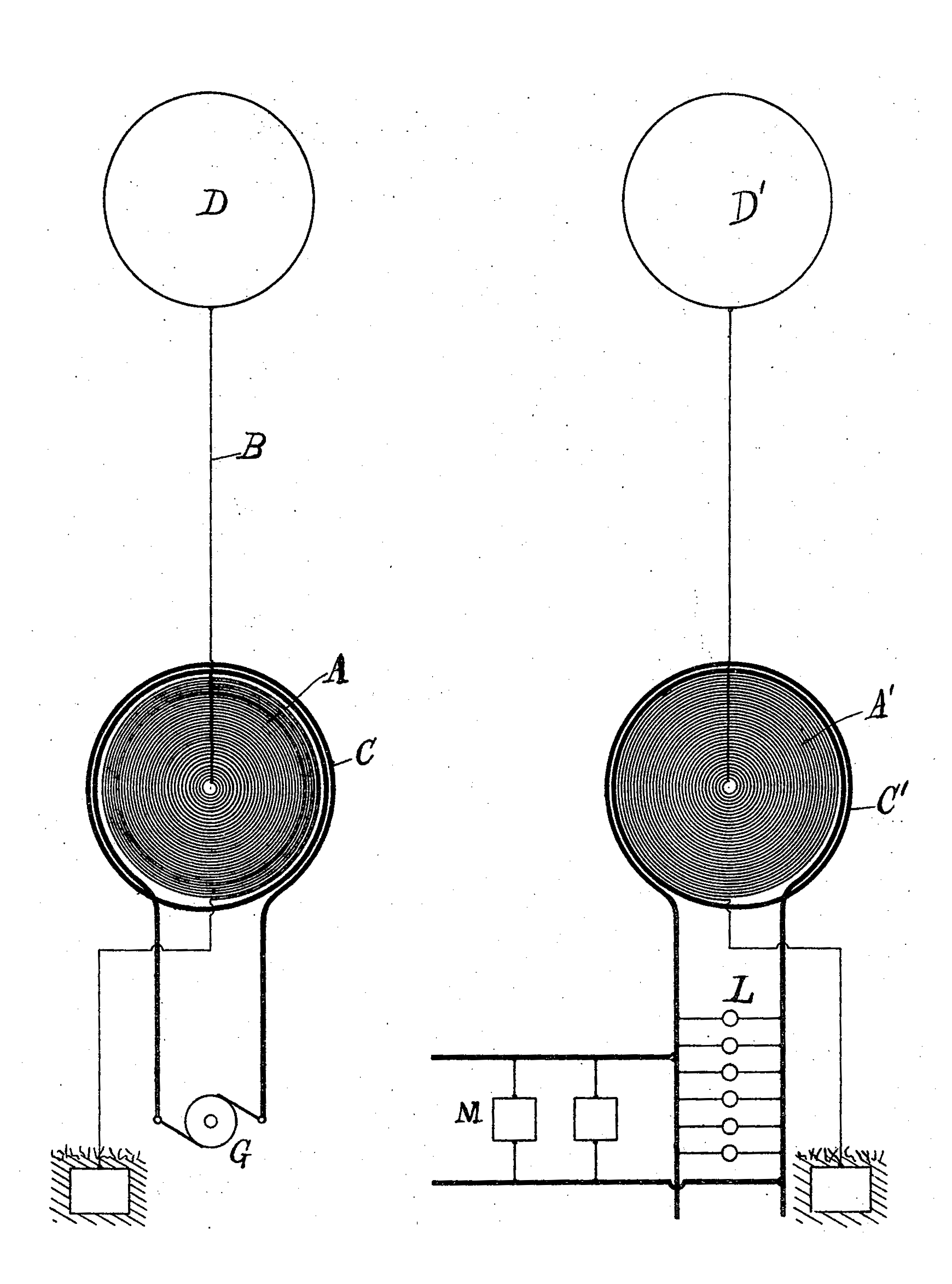 tesla coil tesla s proposed wireless power system from his 1897 patent the transmitter left consists of a tesla coil a c driving an elevated capacitive terminal