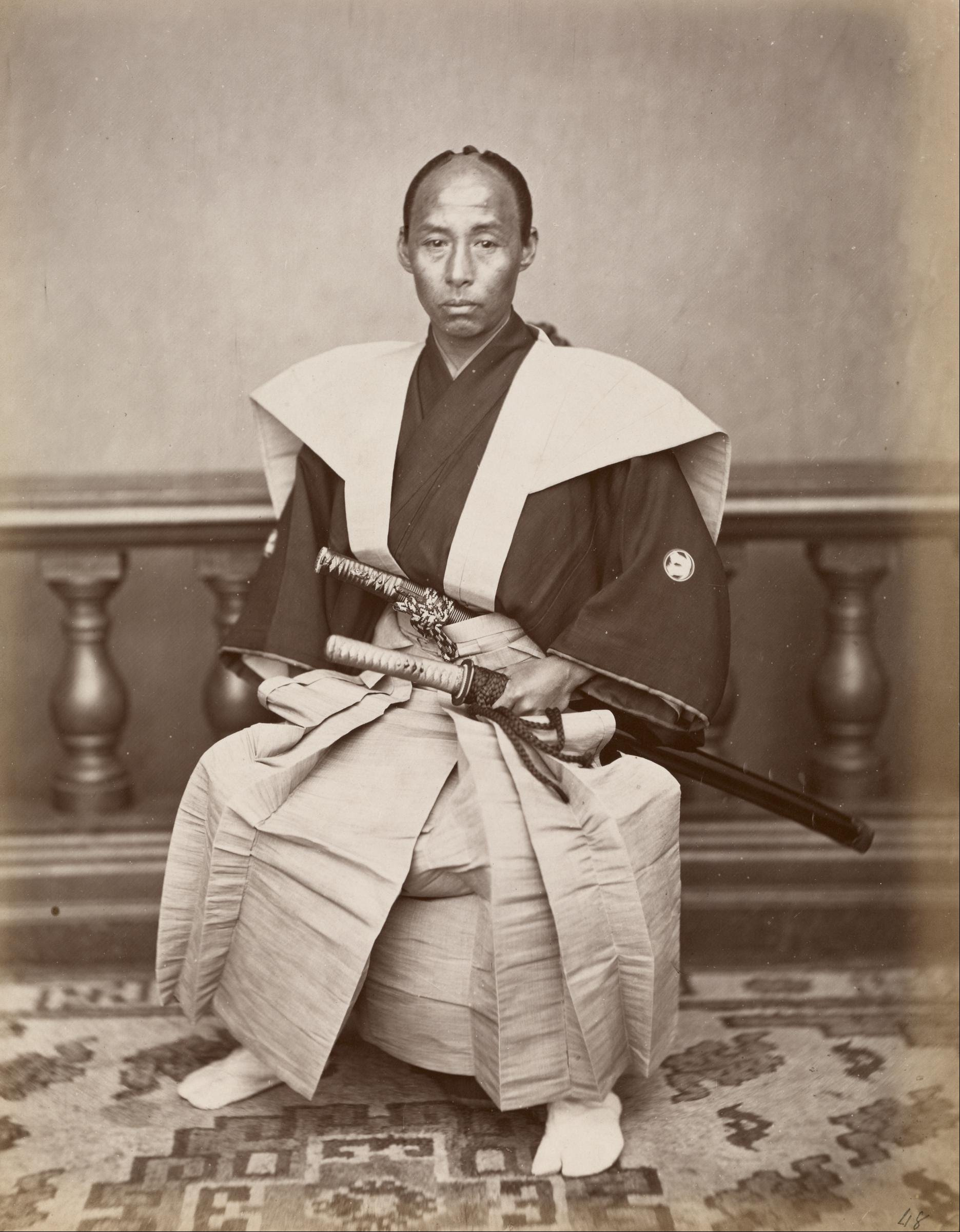 the history of the samurai in the japan A chronology of japanese history mythology: this could be called modern japan's first constitution as it lays out thus ending the samurai's lock on.