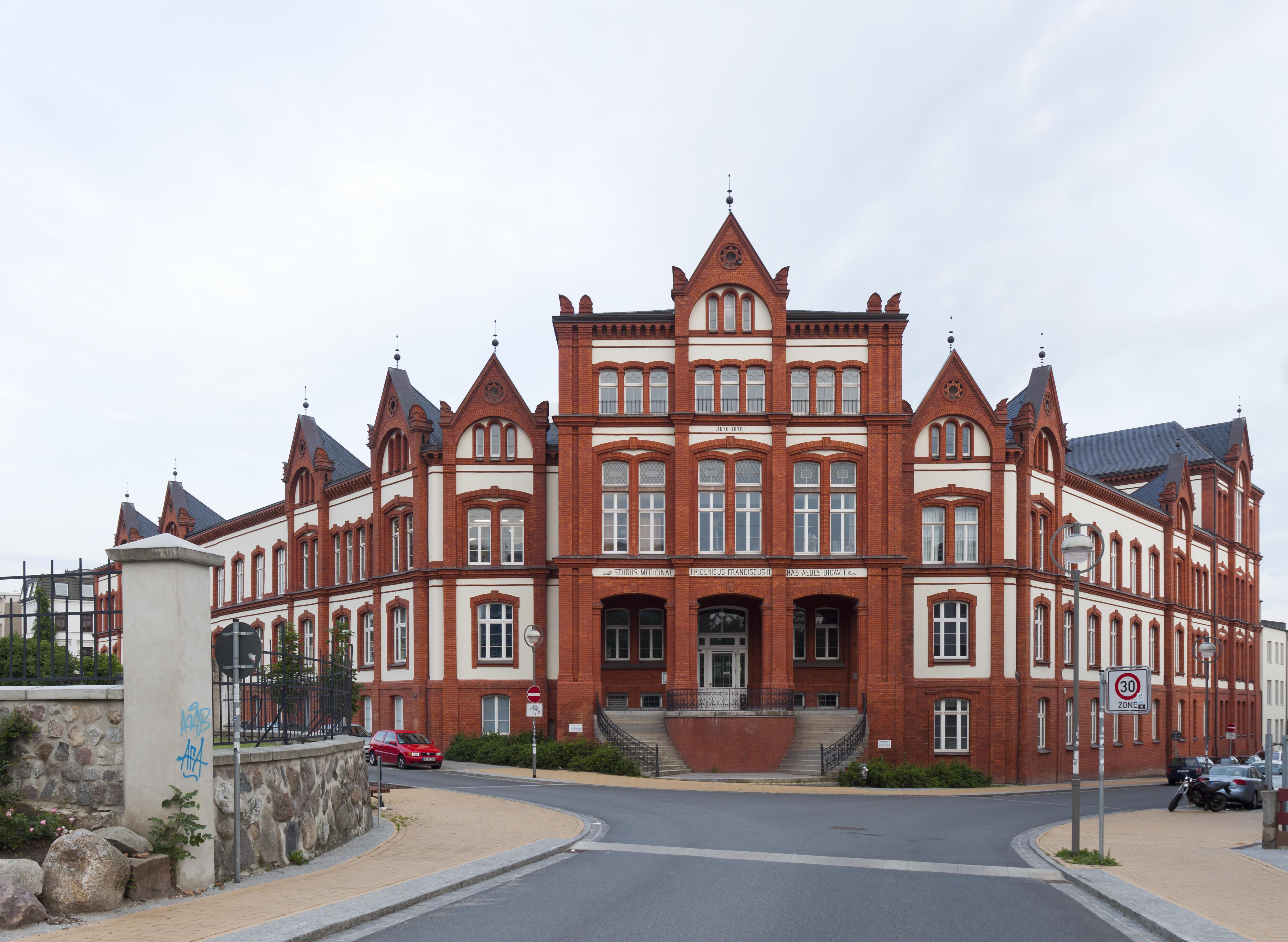 File:University Rostock Department of Anatomy 2 image stitch.jpg ...