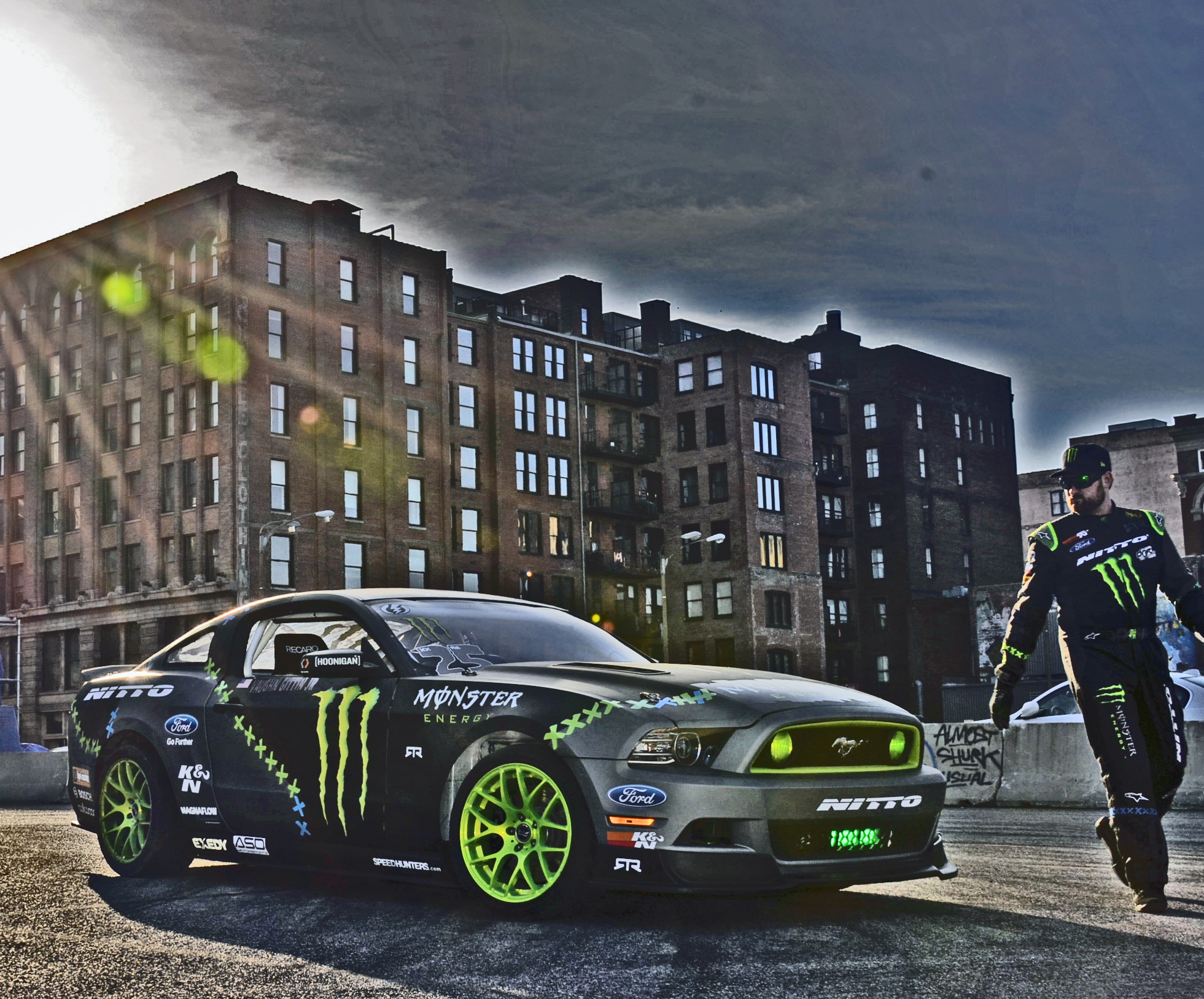 The 37-year old son of father (?) and mother(?) Vaughn Gittin Jr. in 2018 photo. Vaughn Gittin Jr. earned a  million dollar salary - leaving the net worth at 1 million in 2018