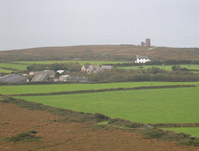 View west from St Agnes Beacon - geograph.org.uk - 68843