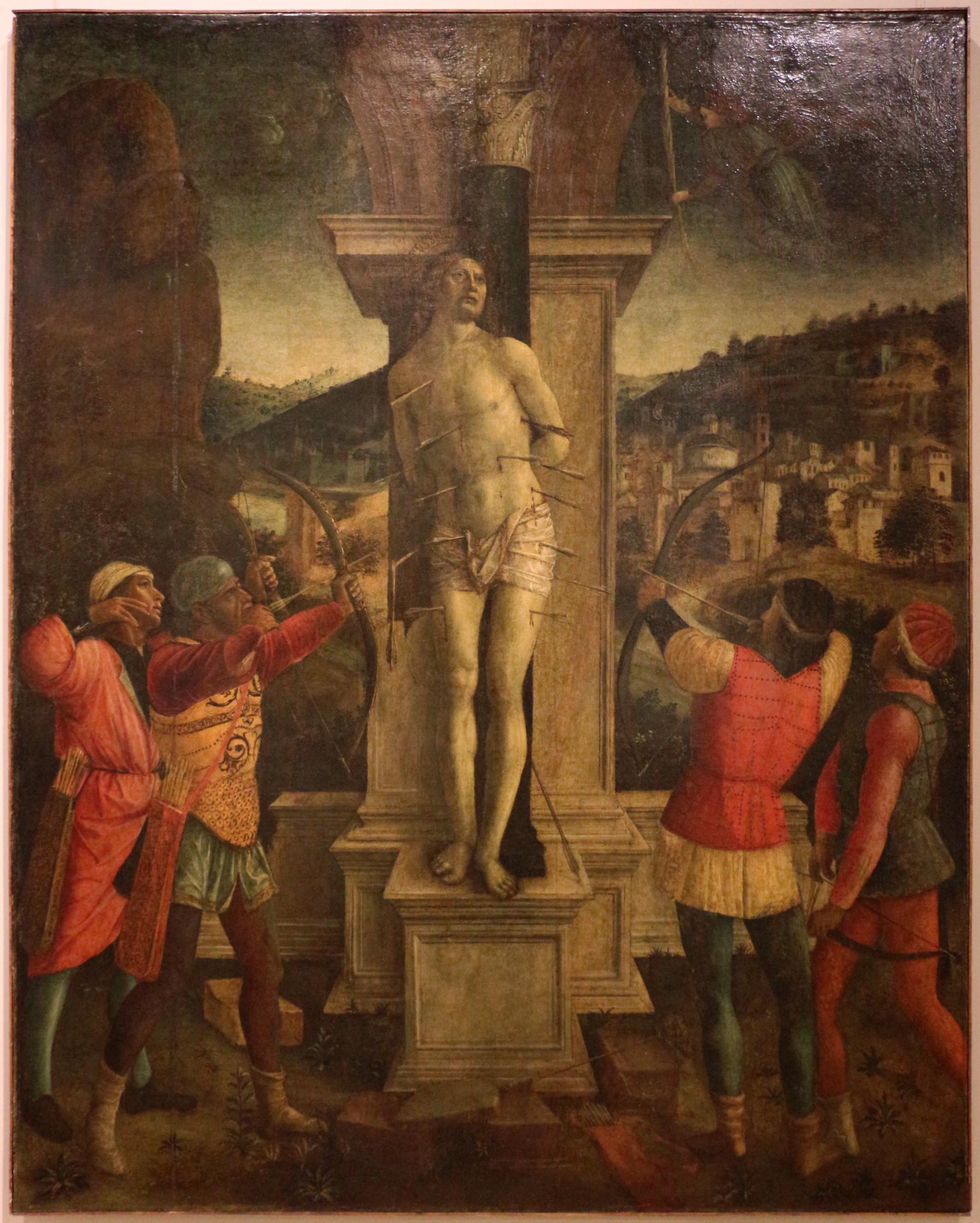 File:Vincenzo foppa, martirio di san sebastiano, 1490-1500 ca.JPG