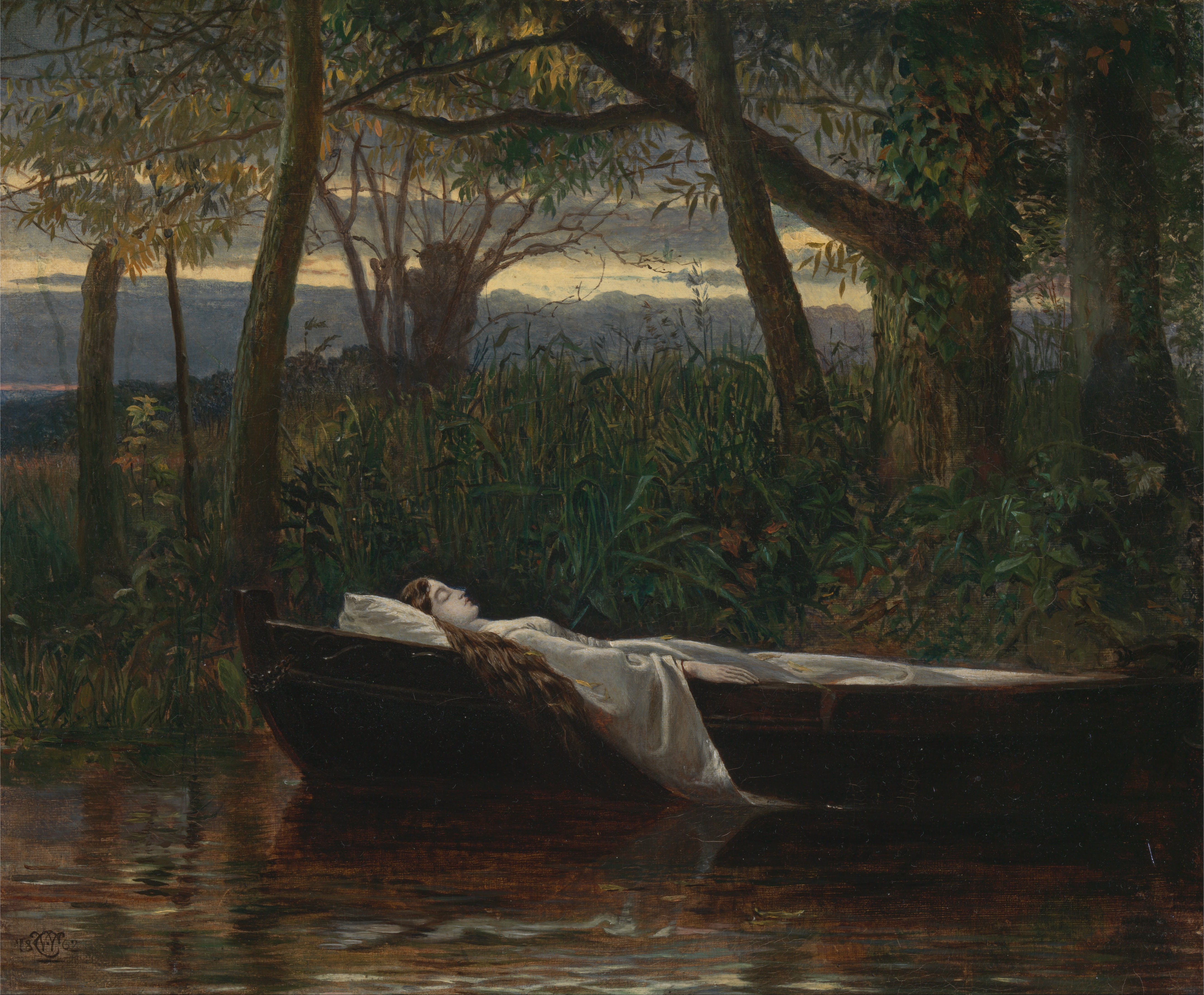 the lady of shalott poem with line numbers