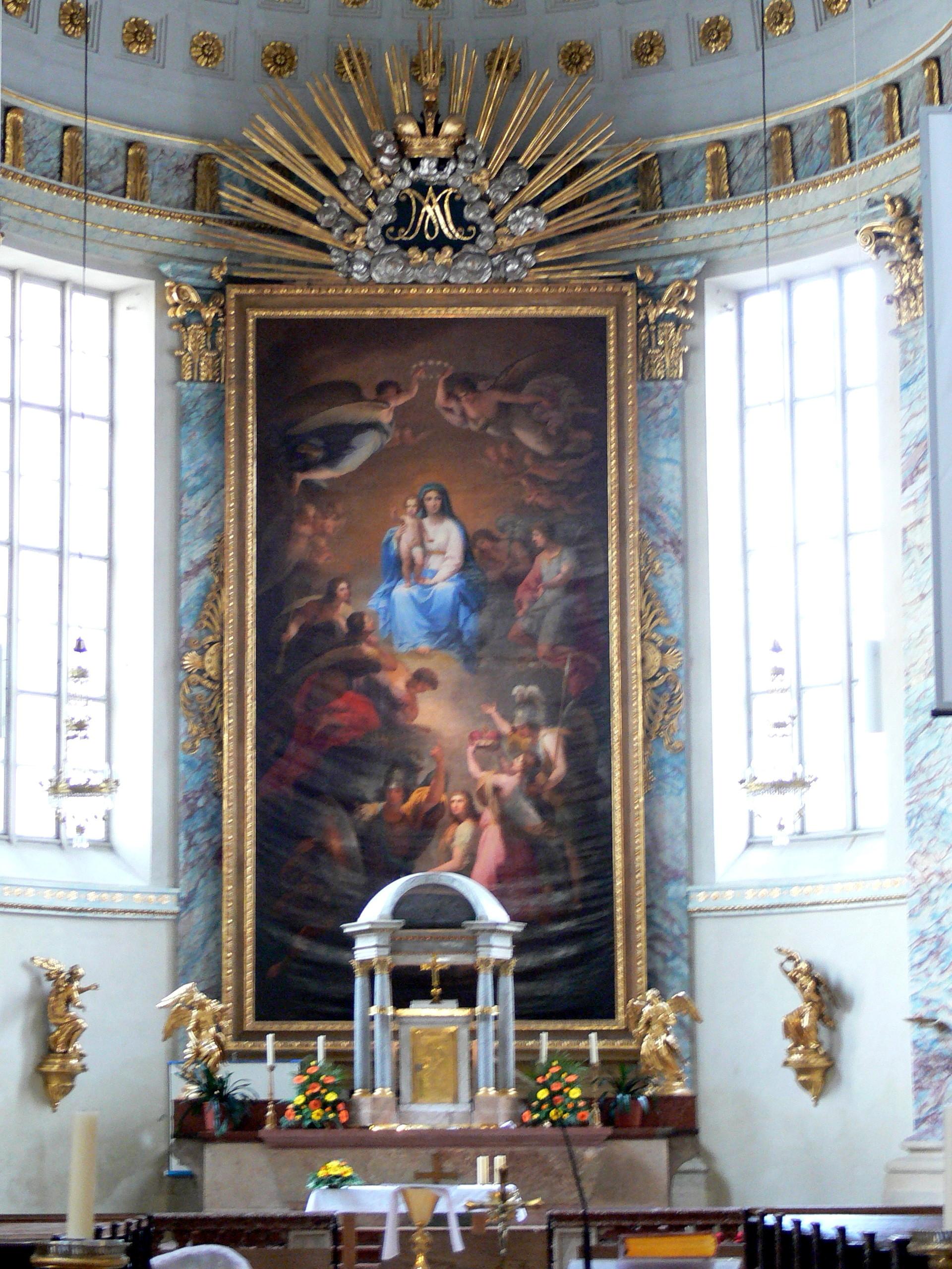 Wien - Kirche am Hof Hochaltar.jpg