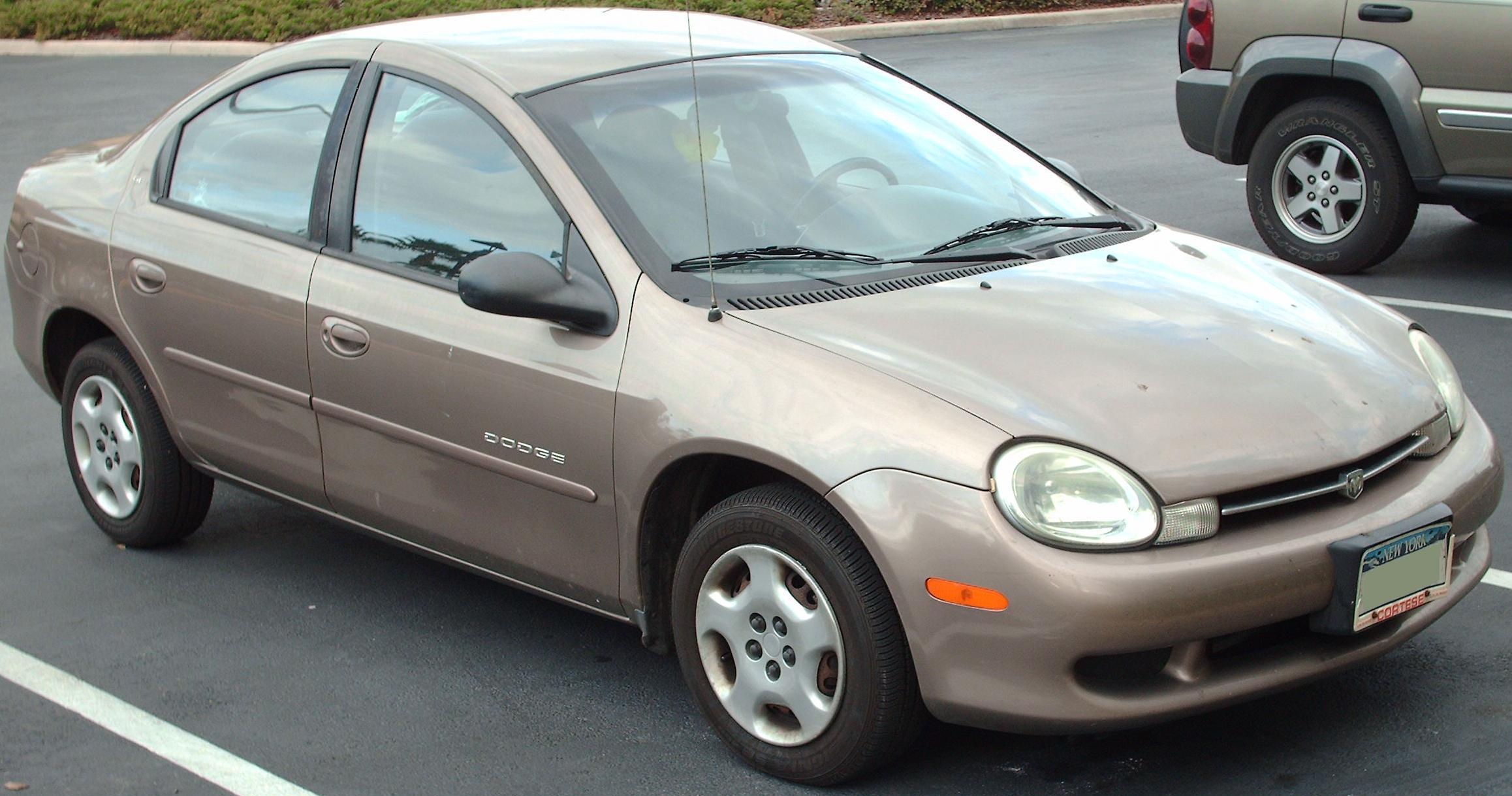 File:'00-'01 Dodge Neon.jpg - Wikimedia Commons