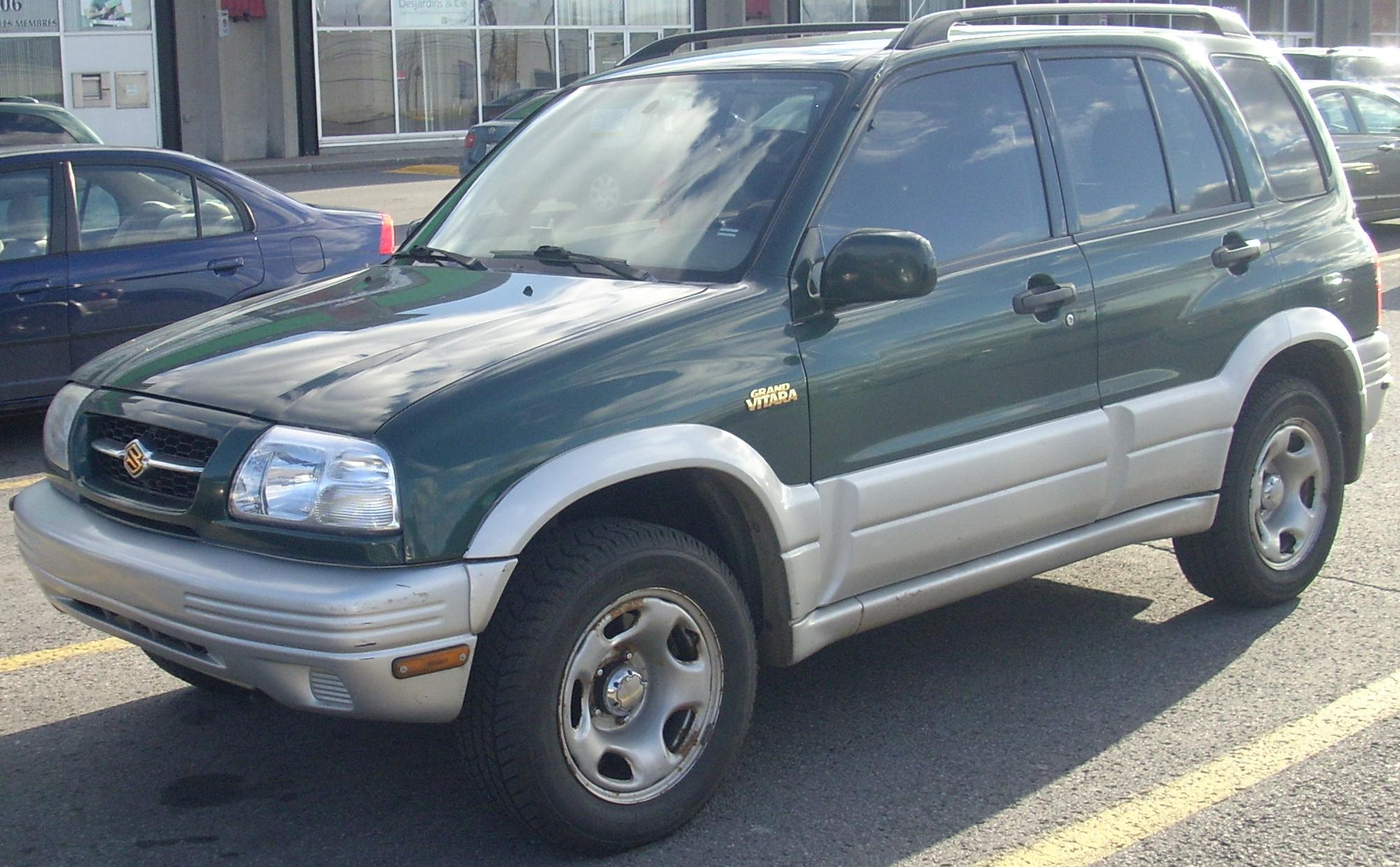 File:'99-'01 Suzuki Grand Vitara.JPG - Wikimedia Commons