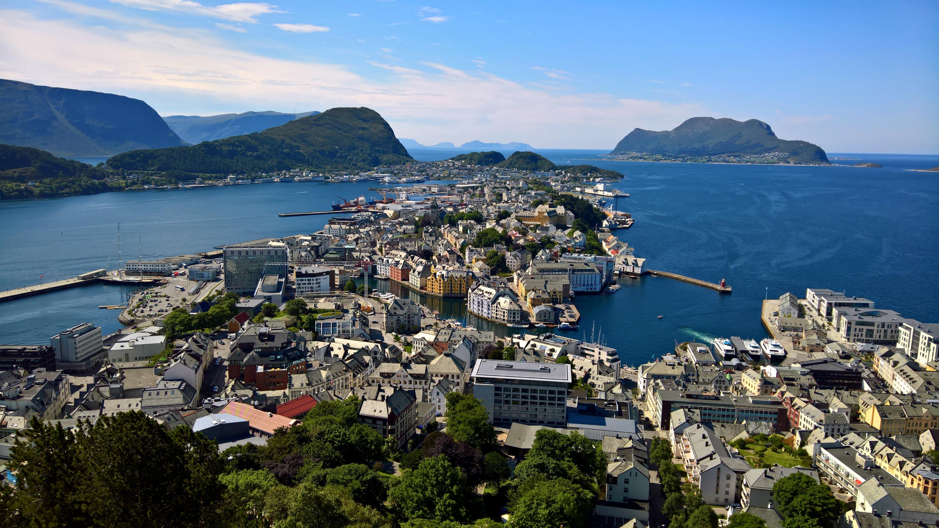 Alesund; places to visit in Norway