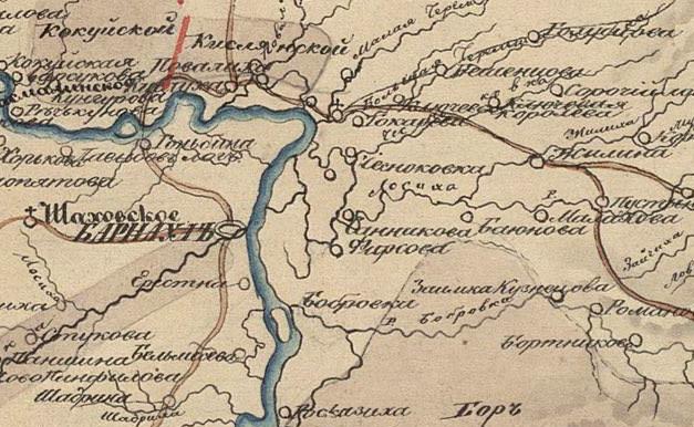 вакансии: старая карта карасунь барнаульского уезда южном