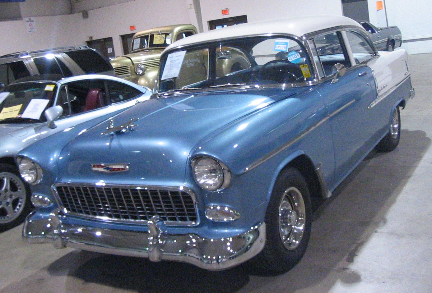 File 55 Chevrolet Bel Air Coupe Toronto Classic Car