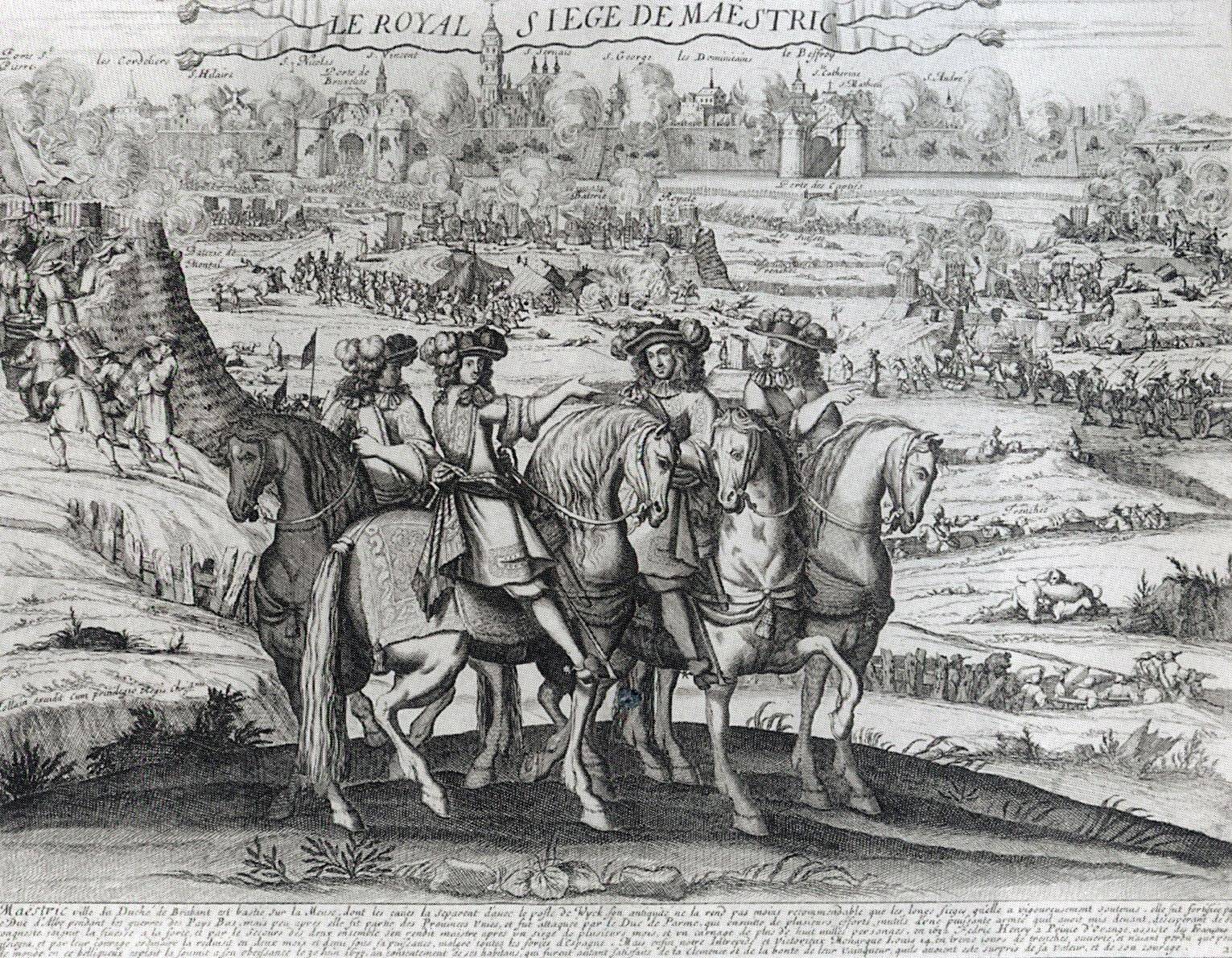 File:1673 Beleg van Maastricht door Lodewijk XIV (Iollain, ca 1675).