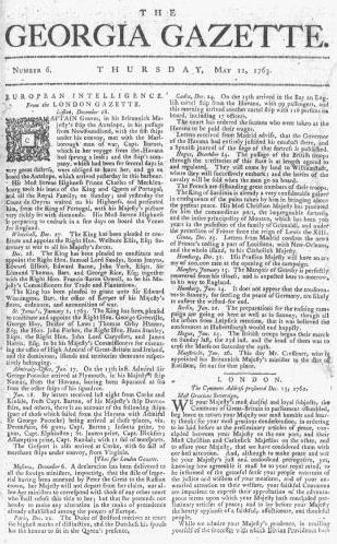 List of newspapers in Georgia (U.S. state)